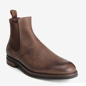 Allen Edmonds Nomad Brown Nubuck Chelsea Boot